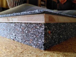 Tungskumsabsorptionsplattor för stomljuddämpning