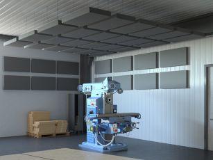Akustik-set Square Industry