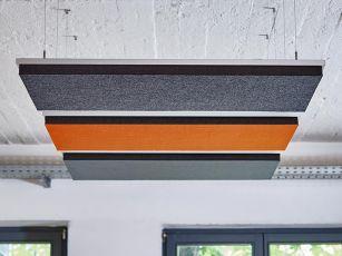 Design akustikabsorbent fyrkant