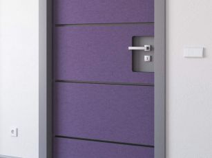 Självhäftande ljudisoleringsset för dörrar